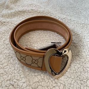 NWT Authentic Gucci Woven GG Belt w/ Leather